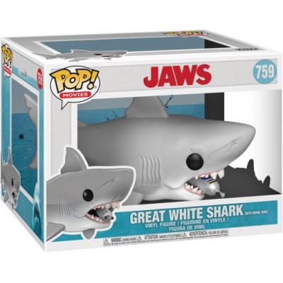 Фигурка Jaws - POP! Movies - Great White Shark with Diving Tank (15 см)