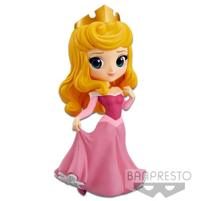 Фигурка Banpresto Sleeping Beauty - Q posket Disney Characters - Princess Aurora (Pink Dress) 82455P (14 см)