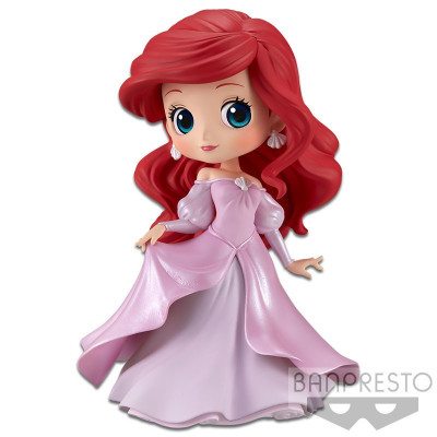 Фигурка Banpresto The Little Mermaid - Q posket Disney Characters - Ariel Princess Dress (Pink Dress) 35685 (14 см)