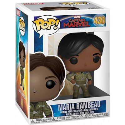 Фигурка Funko Головотряс Captain Marvel - POP! - Maria Rambeau 37585 (9.5 см)