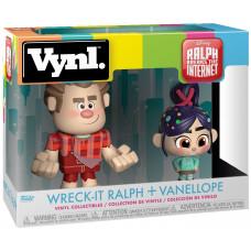 Набор фигурок Ralph Breaks the Internet - Vynl - Wreck-It Ralph + Vanellope (9.5 см)