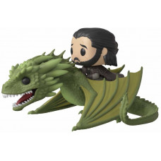 Фигурка Game of Thrones - POP! Rides - Jon Snow with Rhaegal (9.5 см)