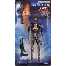 Фигурка Terminator 2: Future War - Action Figure - Metal-Mash Terminator with Phased Plasma Rifle and Light-Up Eyes (18 см)