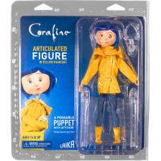 Фигурка Coraline - Articulated Figure - Coraline in Rain Coat (18 см)