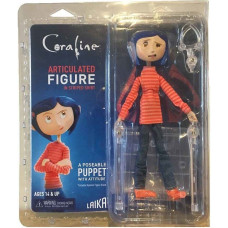 Фигурка Coraline - Articulated Figure - Coraline in Striped Shirt and Jeans (18 см)