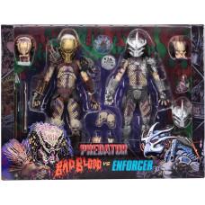 Набор фигурок Predator - Action Figure Ultimate - Bad Blood vs Enforcer (18 см)