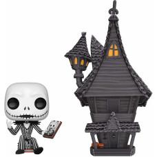 Набор фигурок Nightmare Before Christmas - POP! Town - Jack with Jack's House (15 см)