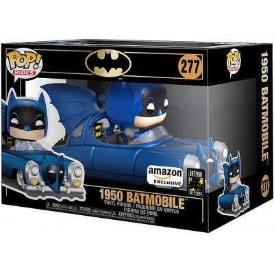 Фигурка Funko Batman 80 Years - POP! Rides - 1950 Batmobile (Metallic) (Exc) 43214 (9.5 см)