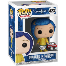 Фигурка Coraline - POP! Animation - Coraline in Raincoat (Diamond Glitter) (Exc) (9.5 см)