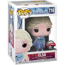 Фигурка Frozen 2 - POP! - Elsa (with Salamander) (Exc) (9.5 см)