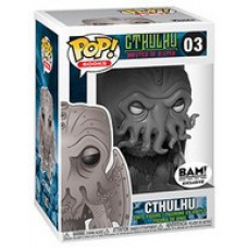 Фигурка Cthulhu: Master of R'lyen - POP! Books - Cthulhu (Black and White) (Exc) (9.5 см)
