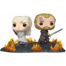 Набор фигурок Game of Thrones - POP! Movie Moments - Daenerys and Jorah with Swords (9.5 см)