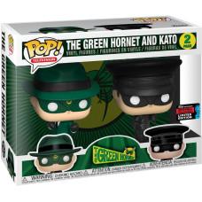 Набор фигурок Green Hornet - POP! TV - The Green Hornet and Kato! (Exc) (9.5 см)