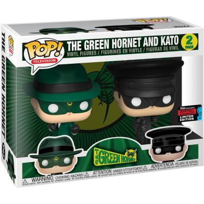 Набор фигурок Funko Green Hornet - POP! TV - The Green Hornet and Kato! (Exc) 43357 (9.5 см)