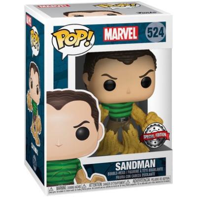 Фигурка Funko Головотряс Marvel 80 Years - POP! - Sandman (Exc) 42978 (9.5 см)