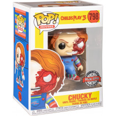 Фигурка Child's Play 3 - POP! Movies Chucky (Battle Damaged) (Exc) (9.5 см)