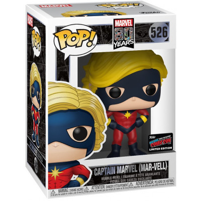 Фигурка Funko Головотряс Marvel 80 Years - POP! - Captain Marvel (Mar-Vell) (Exc) 43362 (9.5 см)