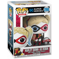 Фигурка DC: Super Heroes - POP! Heroes - Harley as Robin (Exc) (9.5 см)