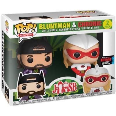 Набор фигурок Funko Jay & Silent Bob - POP! Movies - Bluntman & Chronic (Exc) 39740 (9.5 см)