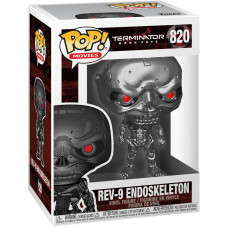 Фигурка Terminator: Dark Fate - POP! Movies - Rev-9 Endoskeleton (9.5 см)