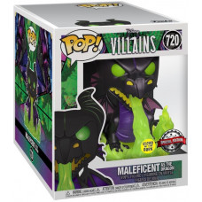 Фигурка Sleeping Beauty - POP! - Maleficent as the Dragon (Glows in the Dark) (Metallic) (Exc) (15 см)