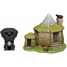 Набор фигурок Harry Potter - POP! Town - Hagrid's Hut & Fang (9.5 см)