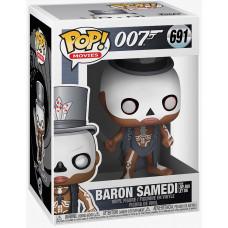 Фигурка 007 - POP! Movies - Baron Samedi from Live and Let Die (9.5 см)