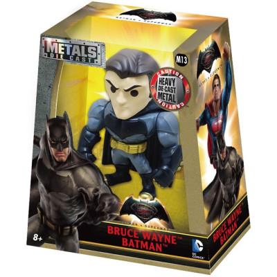 Фигурка Jada Toys Batman v Superman: Dawn of Justice - Metalfigs - Bruce Wayne Batman (10 см)