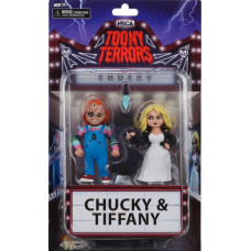 Набор фигурок Chucky - Toony Terrors Action Figure - Chucky & Tiffany (15 см)