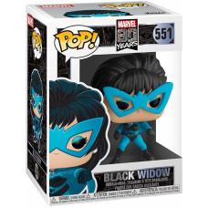 Головотряс Marvel 80 Years - POP! - Black Widow (9.5 см)