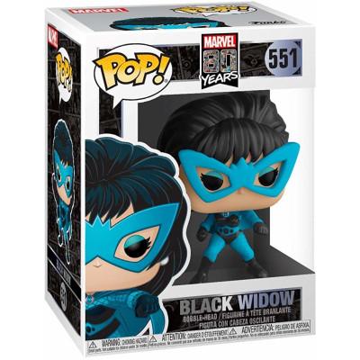 Фигурка Funko Головотряс Marvel 80 Years - POP! - Black Widow 44502 (9.5 см)