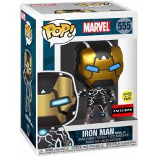 Головотряс Marvel 80 Years - POP! - Iron Man Model 39 (Glows in the Dark) (Exc) (9.5 см)