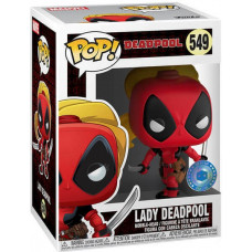Головотряс Marvel 80 Years - POP! - Lady Deadpool (Exc) (9.5 см)
