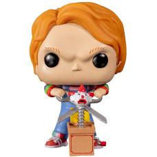 Фигурка Child's Play 2 - POP! - Chucky (with Giant Scissors & Jack in the Box) (Exc) (9.5 см)