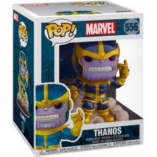 Головотряс Marvel 80 Years - Deluxe POP! - Thanos Snap (The Infinity Gauntlet) (Metallic) (Exc) (9.5 см)