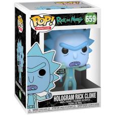 Фигурка Rick & Morty - POP! Animation - Hologram Rick Clone (9.5 см)