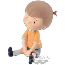 Фигурка Winnie the Pooh - Cutte! Fluffy Puffy Disney Characters - Christopher Robin (5 см)