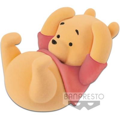 Фигурка Banpresto Winnie the Pooh - Cutte! Fluffy Puffy Disney Characters - Winnie The Pooh 85647P (5 см)