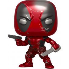 Головотряс Marvel 80 Years - POP! - Deadpool (Metallic) (Exc) (9.5 см)