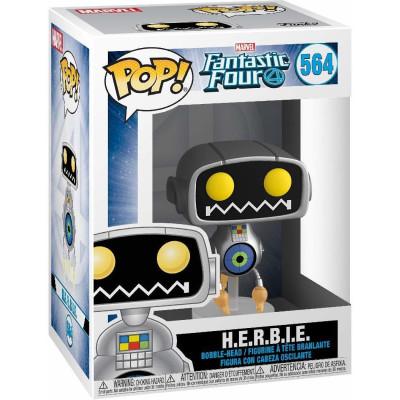 Фигурка Funko Головотряс Fantastic Four - POP! - H.E.R.B.I.E 44993 (9.5 см)