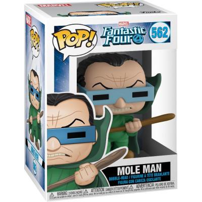 Фигурка Funko Головотряс Fantastic Four - POP! - Mole Man 44990 (9.5 см)