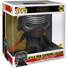 Головотряс Star Wars Episode IX The Rise of Skywalker - POP! - Kylo Ren Supreme Leader (Glows in the Dark) (25.5 см)