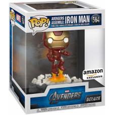 Головотряс Avengers - POP! Deluxe - Avengers Assemble: Iron Man (Exc) (14 см)