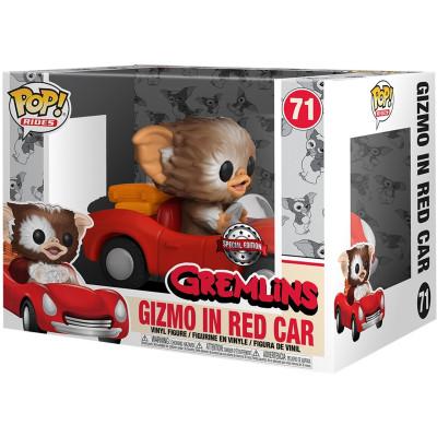 Фигурка Funko Gremlins - POP! Rides - Gizmo in Red Car (Exc) 44797 (9.5 см)