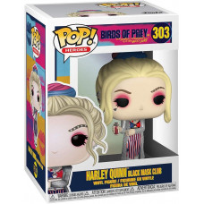 Фигурка Birds of Prey - POP! Heroes - Harley Quinn (Black Mask Club) (9.5 см)