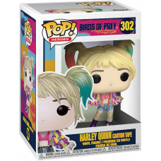 Фигурка Birds of Prey - POP! Heroes - Harley Quinn (Caution Tape) (9.5 см)