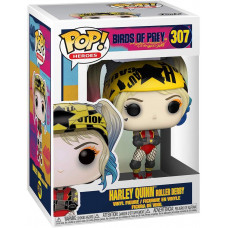 Фигурка Birds of Prey - POP! Heroes - Harley Quinn (Roller Derby) (9.5 см)