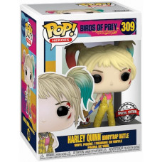 Фигурка Birds of Prey - POP! Heroes - Harley Quinn (Boobytrap Battle) (Exc) (9.5 см)