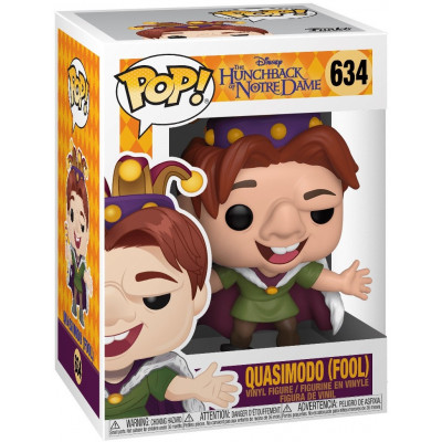 Фигурка Funko Hunchback of Notre Dame - POP! - Quasimodo (Fool) 41146 (9.5 см)