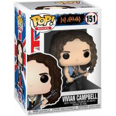 Фигурка Def Leppard - POP! Rocks - Vivian Campbell (9.5 см)
